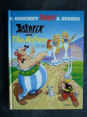 ASTERIX AND THE ACTRESS 1st/1st FIRST EDITION H/B BOOK ORION 2001 EXC