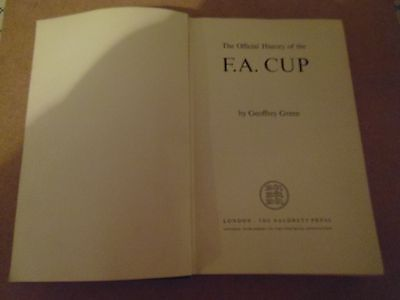 The Official History Of The Fa Cup 1871-1947