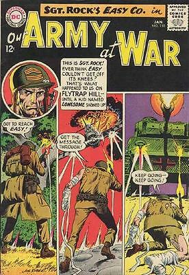 OUR ARMY AT WAR #150 G/VG, Sgt. Rock, Joe Kubert c/a, DC Comics 1965