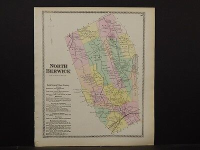 Maine/York County Map, 1872, Town of North Berwick, Z4#79