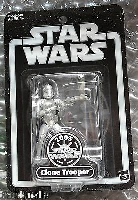 Star Wars 2003 Convention Silver Clone Trooper New Sealed