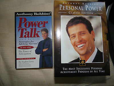 Anthony Robbins Personal Power Talk classic edition CD complete collection