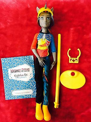 ❤️Original Monster High Doll ~ Neighthan Rot & Diary ~  Freaky Fusion❤️RT1/69