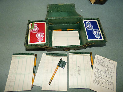 Royal National Lifeboat Institution vintage bridge set  playing cards