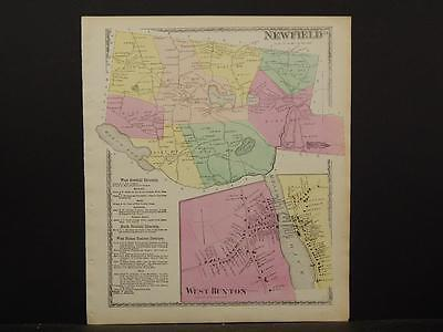Maine/York County Map, 1872, Town of Newfield, Z4#81