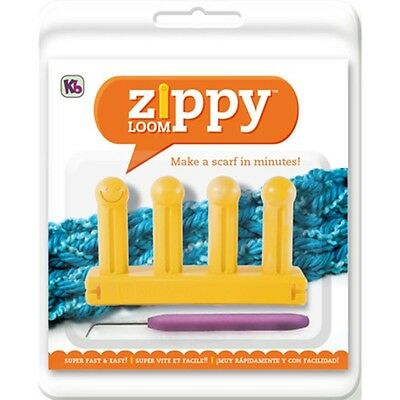 KB Authentic Kitting Board Zippy Loom Includes Hook and Instructions KB6500