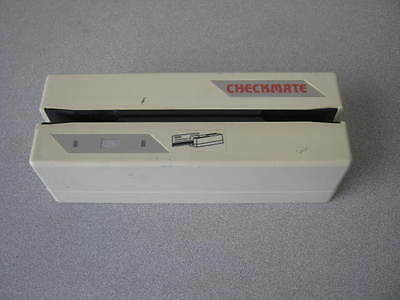 CheckMate CMR430 POS MICR Check Reader RS232 RS485 - White