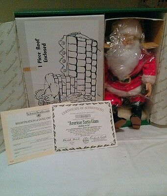 1989 Aston Drake American Santa Claus First Issue Spirit of Christmas Doll New