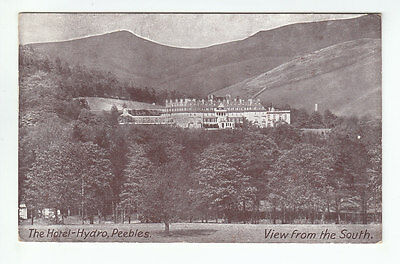 The Hotel Hydro Peebles Hydropathic c1930's Smith Minden Private Hotel Old PC