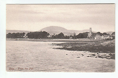 Row Village From The Pier Helensburgh Pre 1914 Frith's 47412 Old Postcard