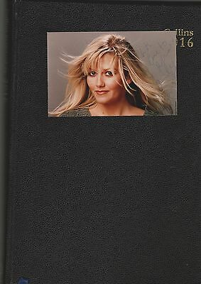 Camille Coduri  Autograph signed Postcard size photo Dr Who actress