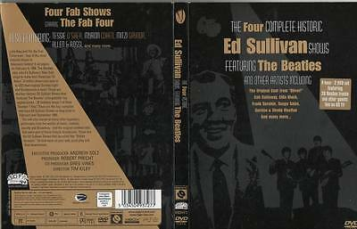 THE FOUR ED SULLIVAN SHOWS (2 DVD 4 Hour Boxed Set) FANTASIO, FRED KAPS etc.