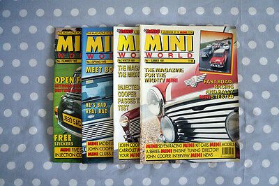 MINI WORLD Magazine Issue's Number 1 to 20 (1991 - 1993) - GREAT CONDITION