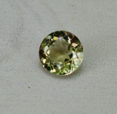 Zultanite Natural Loose Gem  5.2mm Round Cut Cert of Auth B027 .48 - .59 ct