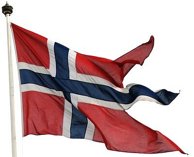NEW 3ftx5 NORWAY WAR NORWEGIAN SWALLOW TAIL FLAG
