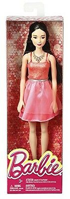 Barbie Asian Glitz Doll with Coral Dress