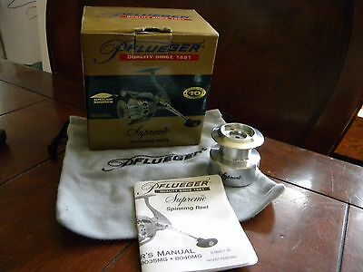 Great Pflueger Supreme 8030MG Spinning Reel Box with extra spool