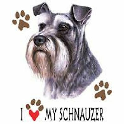 Schnauzer Uncropped Love Tote