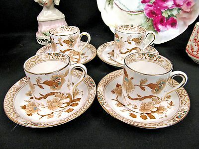 Tuscan Tea Cup And Saucer Demi Can Set Of 4 Blossoms Butterfly Teacups