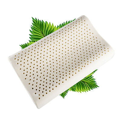 100% Thailand Natural Soft Latex Pillow Wave Shape Bed Size:Small/Medium/Large