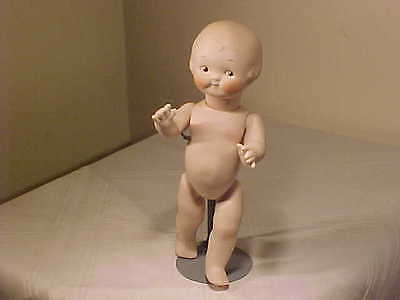 "9 1/2 "" VERNON SEELEY Campbell Kid Doll Jointed Kewpie"