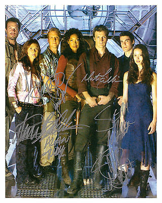 ** ** SERENITY / FIREFLY ** ** CAST Autographed Glossy 8x10 RP