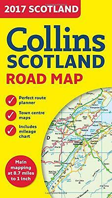 2017 Collins Map of Scotland (Collins Maps), Collins Maps | Map Book | 978000815