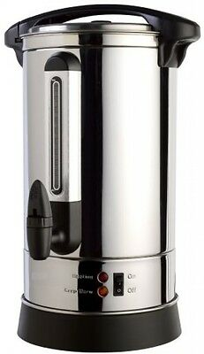 Stainless Steel 65 Cup Insulated Hot Water Coffee Urn Dispenser, Hot Beverage