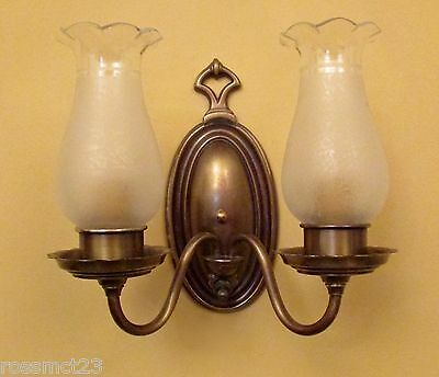 Vintage Lighting three circa 1930 Colonial Revival sconces
