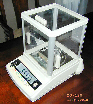 1200/.01g Lab Scale Balance Gems Gold Jewelry Recharge Battery-AC Windshield