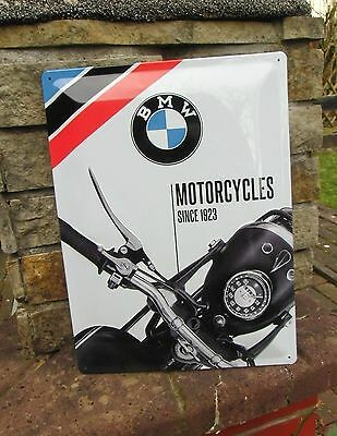 BMW Classic Motorcycles since 1923 - LARGE Official Wall Sign - Made in Germany