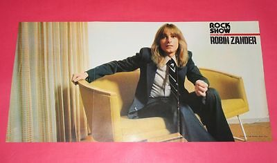 ROBIN ZANDER CHEAP TRICK Woody BAY CITY ROLLERS 1978 PIN UP POSTER JAPAN RS 9A