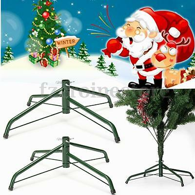 50cm Christmas Tree Stand Xmas Green Metal Holder Base Cast Iron Stand Holiday