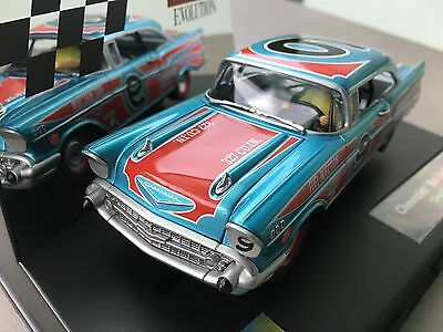 """Carrera Evolution 27526 Chevrolet Bel Air '57 """"Oval Racer"""" USA only"""