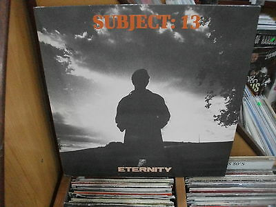 Subject: 13 ‎– Eternity  ' 12'' MINT