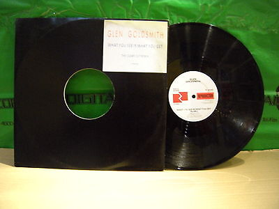 Glen Goldsmith – What You See Is What You Get (Remix) ' 12'' MINT