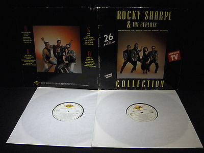 Rocky Sharpe & The Replays ‎– Collection ' 2 X LP VG++ / N.MINT SPAIN PRESS