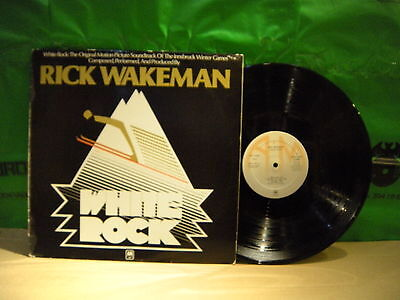 Rick Wakeman ‎– White Rock ' LP VG++ / N.MINT SPAIN PRESS