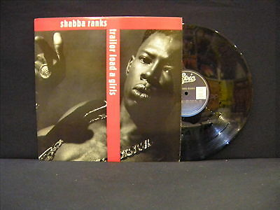 Shabba Ranks ‎– Trailor Load A Girls ' 12'' MINT