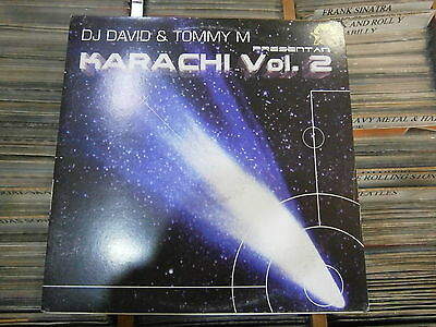 Tommy M & DJ David  Presentan – Karachi Vol. 2  ' 12'' MINT