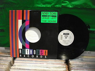 Father Techno – Jesus Left The House ' 12'' MINT