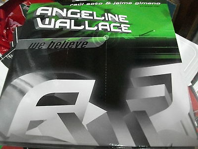 "Raul Soto & Jaime Gimeno presenta: Angeline Wallace ‎– We Believe ' 12 "" MINT"