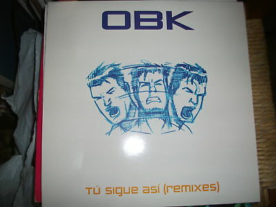 "OBK - Tu Sigue Asi (Remixes)  '12"" MINT  2000"
