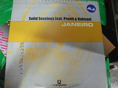 "Solid Sessions Featuring Pronti & Kalmani ‎– Janeiro   ' 12 "" MINT  2002"