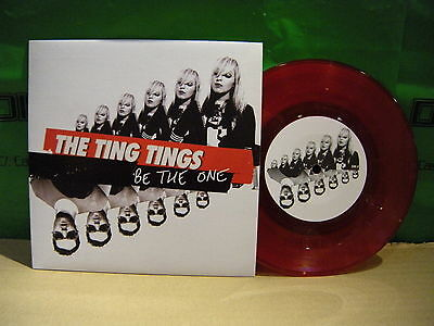the Ting Tings – Be The One ' 7'' MINT RED LIMITED
