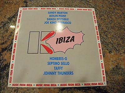 Various ' Music From Ibiza ' Lp Mint 1986 Hombres G - Johnny Thunders - .....