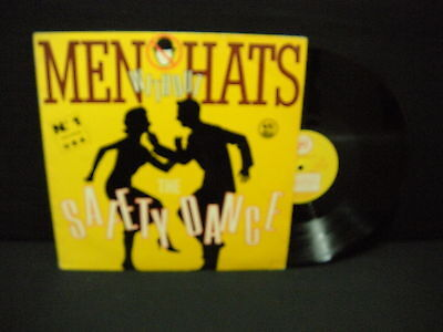 Men Without Hats – The Safety Dance ' 12'' VG++ / N.MINT SPAIN