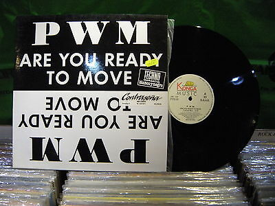 P.W.M. – Are You Ready To Move ' 12'' MINT SPAIN