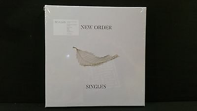 New Order ‎– Singles ' 4 X LP MINT & SEALED 2016