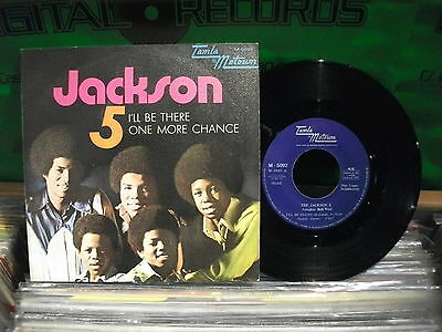 THE Jackson 5 – I'll Be There  ' 7''  MINT  SPAIN PRESS   1970